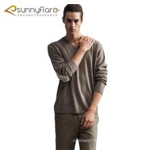 Pulls col V en tricot 100% cachemire de haute qualité pour l'automne