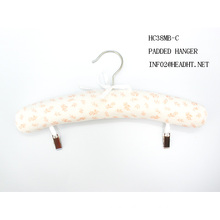 Cotton Padded Adult Clip Hanger