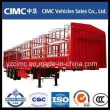 Remolque Cimc 3 Ejes Cargo Fence para Vietnam