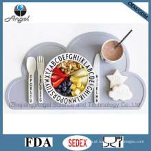 BPA livre tapete de mesa de silicone tapete para crianças crianças Sm08