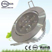 teto de alta qualidade 6w dimmable led luz