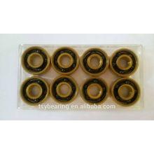 Hot Supply hecho en China 5 bolas de cinco bolas de cojinete de cerámica 608 con 5 bolas en el interior