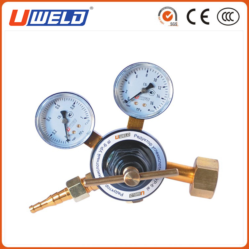 Professional Russia Type Co2 Gas Pressure Regulator