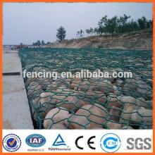 galvanisierte gabion Kasten / Stein gabion Kasten / PVC beschichtete gabion Ineinander greifen