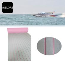 Melors Adhesive Synthetic Floor Mats Teak Boat Mat