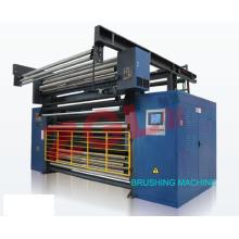 Machine de brossage à grande vitesse de Sme485 pour les tissus de textile de molleton de corail de couverture