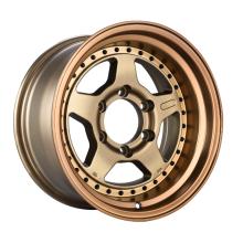 Liga de alumínio SUV roda bronze com rebite