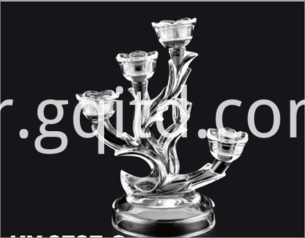 glass type candleholder