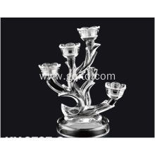 Nice design crystal glass candy holder