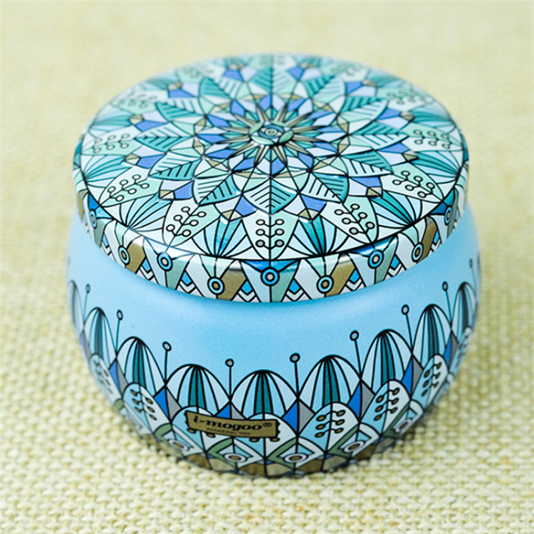 High Grade Candy Box Round Metal Tin Box
