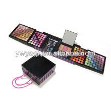 Compõem jogo cosméticos, paleta da sombra, caixa de plástico grande