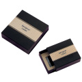Paper Jewelry Box with Customized Logo Stamp