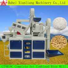 bonne nouvelle condition paddy séparateur, broyeur à marteaux, séchoir à grains et moulin à riz combiné