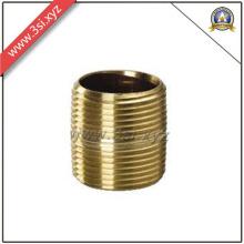 Qualidade ANSI B 16.11 rosca macho cobre barril mamilo (YZF-M559)