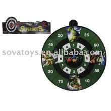 908040663-EVA dart bow and arrow w/magnetism 2 astd