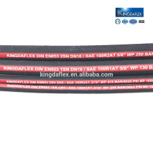 3/4 Inch Flame-Resistant Tamper Hydraulic Rubber Hose SAE100R2AT