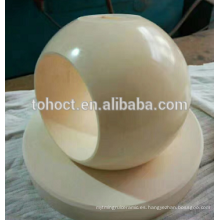 Válvula esférica de la válvula de bola de cerámica superventas de Toho