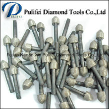 Stone Carving Mounted Point Grinding Wheel Sintered Diamond Burr