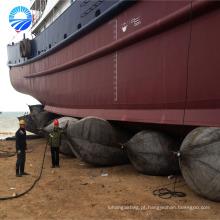 Bolsa a ar de borracha da barca do navio para o elevador de flutuação do barco