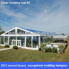 2013 neueste luxuriöse transparente Hochzeit Festzelt Zelt