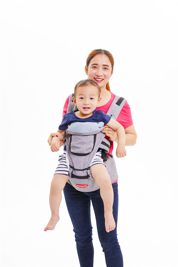 Removable Hipseat Baby Carrier
