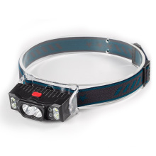 Sport Camping Head-Mounted LED Headlamp Flashlight Bicycle Light USB Rechargeable Head Lamp Multifunctional Led Headlights