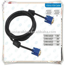 GOLD VGA15PIN SVGA Kabel für LCD MONITOR