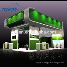stand d'exposition de l'île stand d'exposition bois stand personnalisé à Shanghai