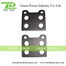 Q235 Aço Material Placa traseira da almofada de freio