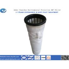 Bolsa de filtro no tejida del colector de polvo del poliéster para la central hidroeléctrica