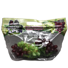 Vegetable Sweet Potato Ziplock Packaging Bag Eco-friendly Clear Plastic Fruit Package Stand up Pouch Agriculture LDPE Customized