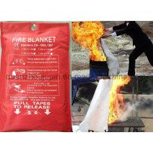 Cobertura de fogo do fogo da fibra de vidro da emergência do calor do carro da cozinha do OEM