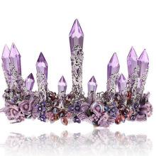 Déshérence de Tiara Crystsal nuptiale Tiaras de mode Real Diamond pour femmes