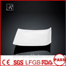 P&T porcelain factory fancy plates, new design dinner plates, simply plates