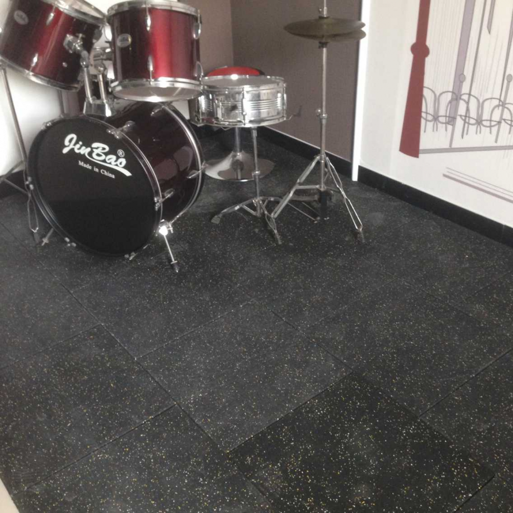 Rubber Floor Tiles Basement