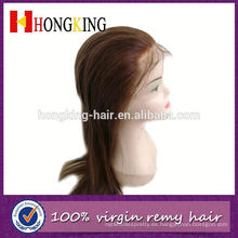 Peluca de encaje Remy Hair Extensions Lace Wig Front Made in China