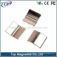 thin curved n52 neodymium magnet