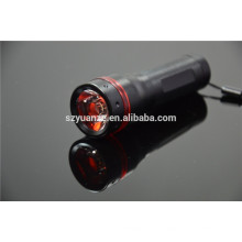 Luz do diodo emissor de luz lanterna elétrica, lanterna leds, lanterna elétrica conduzida da luz, lanterna leve conduzida da luz