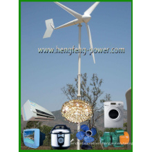 High Efficiency Small Wind Turbine Generator With CE Approval And 3 Years Warranty