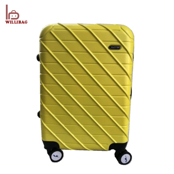 Nouvel ensemble de bagage de conception Trolley cabine abs pc voyage bagages