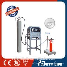 Máquina de enchimento do extintor do dióxido de carbono, máquina de enchimento do extintor do CO2