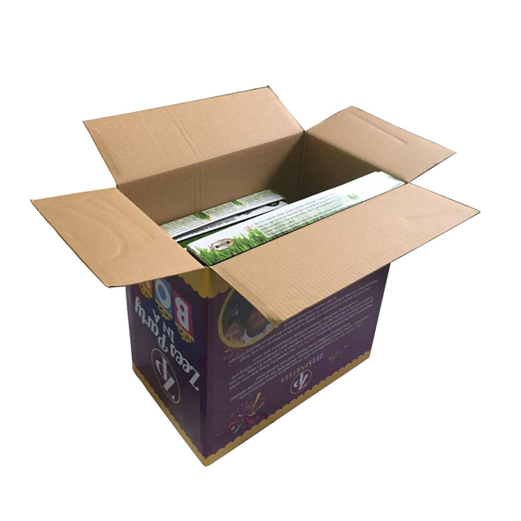 Eco Friendly Custom Corrugated Board Packaging Boxes