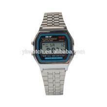 Горячая Продажа Водонепроницаемый LCD Многофункциональный цифровые часы
