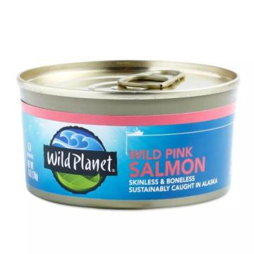 Filet de saumon rose en conserve à l'huile 170g