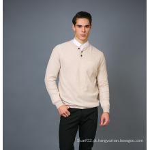 Camisola masculina de cashmere de moda 17brpv126
