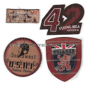 Hand Embroidery Bullion Wire Badges - Exclusive Embroidery Logo