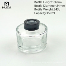 benutzerdefinierte Klarglas Parfüm Diffusor Flasche 150ml