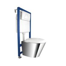 Ss304 Высокое качество из нержавеющей стали стены Хунг Туалет (JN49111E)