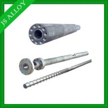 Anti-wear Nitriding or Bimetallic screw barrel