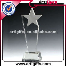 Trofeo estrella de cristal barato 2012